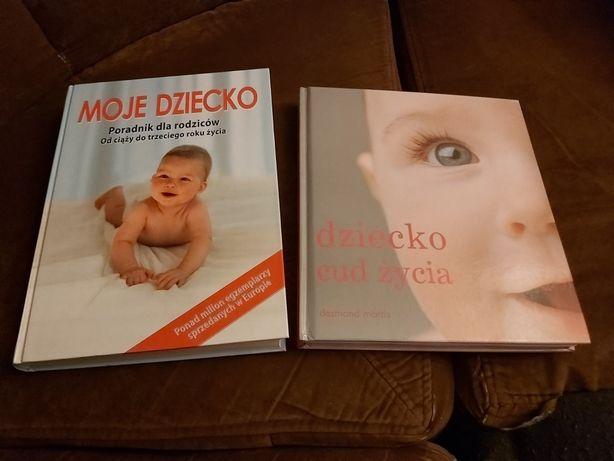 Kpl 2 ksiazki dla rodzicow Dziecko cud zycia, Moje dziecko