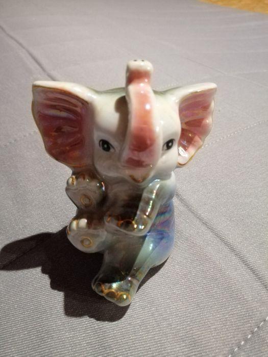 Słonik słoń porcelanowy wysokość ok. 10cm Gdańsk - image 1