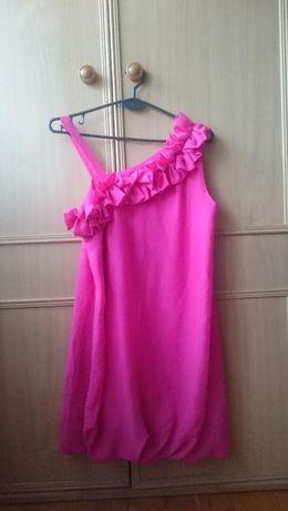 Sprzedam sukienkę w kolorze różu :)
