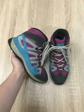 Everest Vibram watertex 32р. Италия трекинговые кроссовки черевики