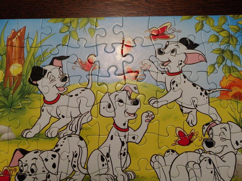 Puzzle 101 dalmatyńczyków 60 szt Czaniec - image 1