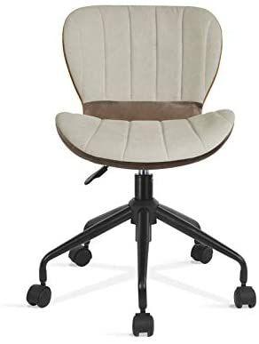 OUTLET designerski fotel obrotowy do pracy biurowy metalowa noga