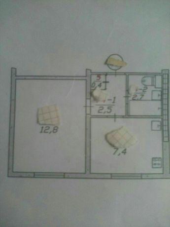 Продам 1-к. квартиру в 1-мкр. без балкона