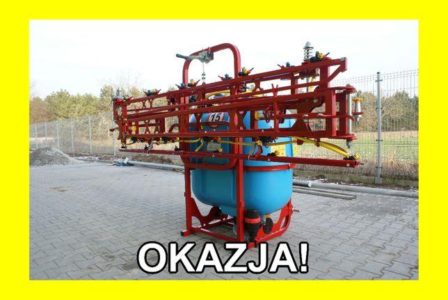 *RSM* Nowy OPRYSKIWACZ Biardzki 200l - 1200l 6m - 21m pompa 120l RATY