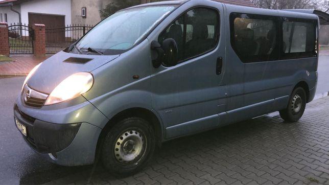 Opel Vivaro 2.0 dci long 9 osobowy klima