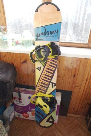 Продаю сноуборд Academy Rhythm series + крепления Flux PR15