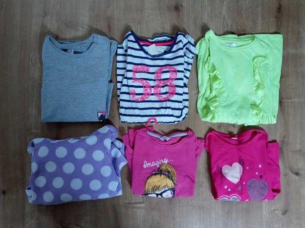 Zestaw ubrań dla dziewczynki 122/128