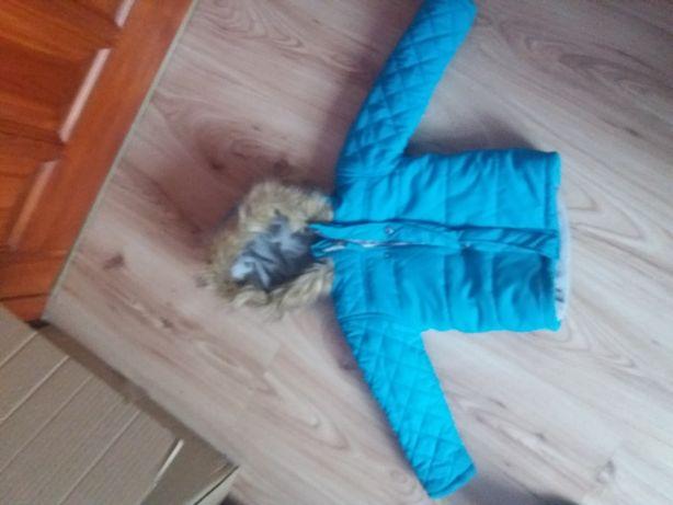 Kurtka zimowa niebieska r.92 Pepco