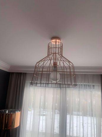 Zestaw lamp sufitowych - kolor miedziany