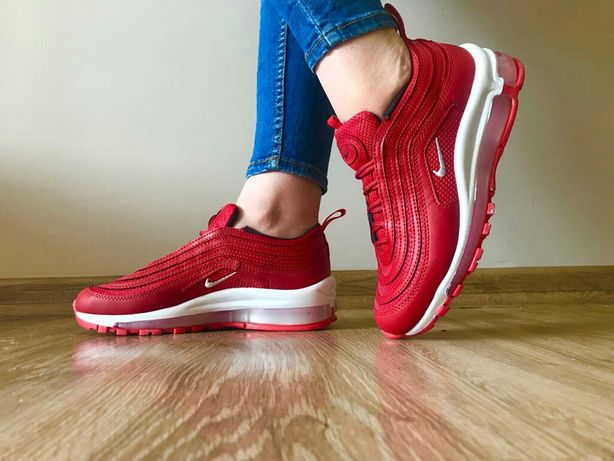 Buty Nike 97. Kolor czerwony. Rozmiar 39. Dobry zakup.