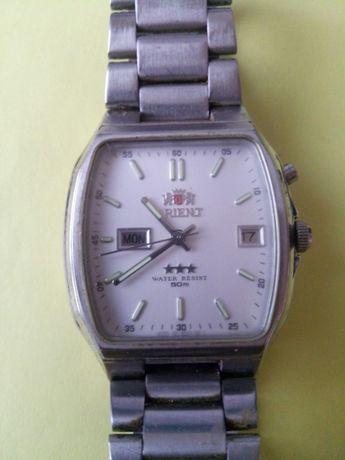наручные мужские механические часы ORIENT самозавод оригинальные Япон