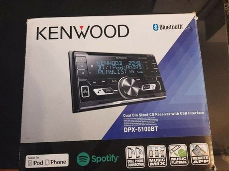 Radio samochodowe Kenwood DPX-5100BT