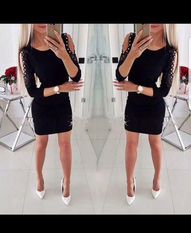 Sukienka r M mała czarna