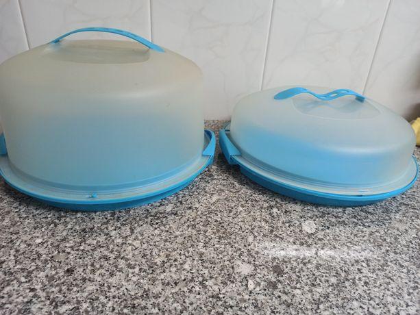 2 transportadoras de bolo