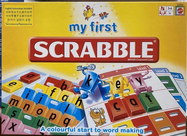 Gra Scrabble My First
