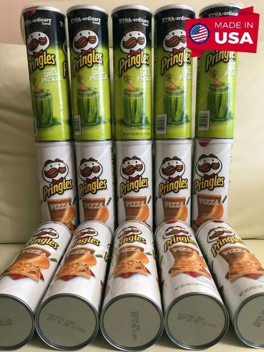 Чипсы Pringles Pizza (пицца) Принглс Dill Pickle (соленый огурец) США Киев - изображение 1
