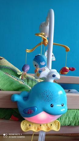 Oddam za słodycze Projektor, karuzela, gryzaki, grzechotki, zabawki