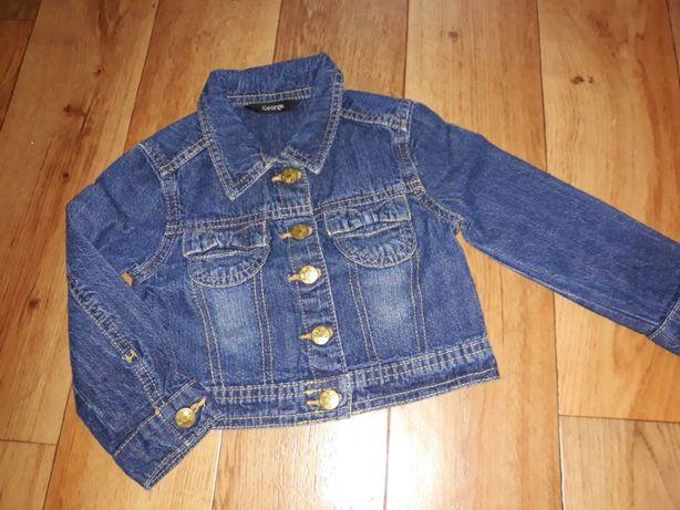 Kurteczka jeansowa George r.86/92