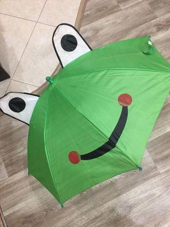 Детский зонт зонтик Лягушка