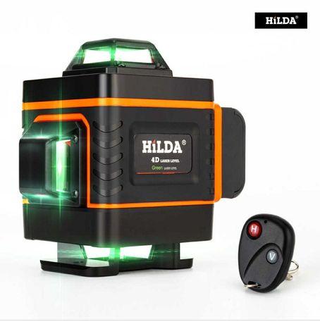 Hilda 16 линейный самовыравнивающий лазерный уровень зеленый