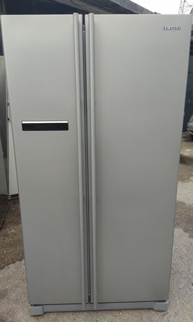 Entrega garantia frigorífico americano Samsung cinzento