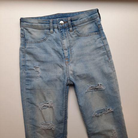 Spodnie jeansowe H&M