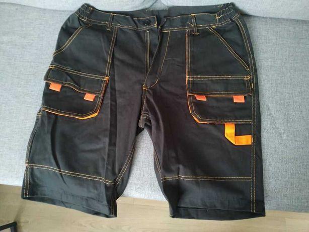 Krótkie spodnie robocze, rozmiar 52 i  54