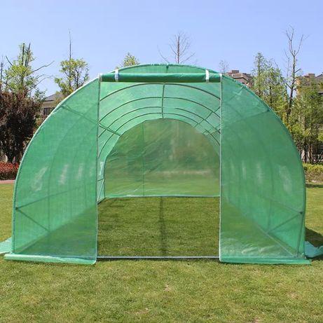 Tunel foliowy - szklarnia ogrodowa - 3x6 m