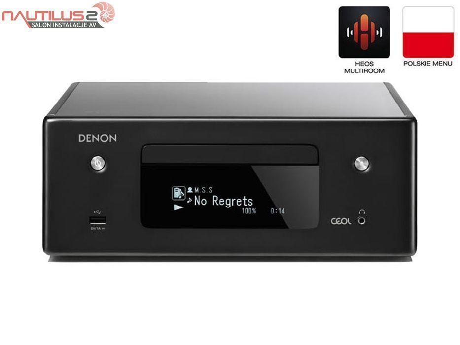 Denon RCDN-10 wzmacniacz wieża Bluetooth Wifi CD MP3 | Raty 30x0%! Rzeszów - image 1