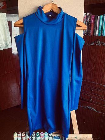 Синее платье ,новое