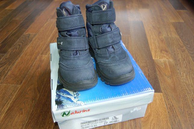 """Buty """"śniegowce"""" dziecięce Naturino 27"""