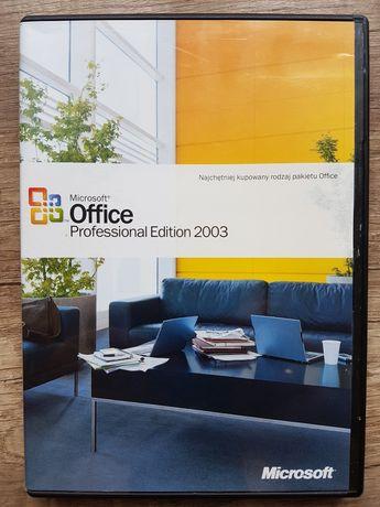 Microsoft office Professional Edition 2003 PL