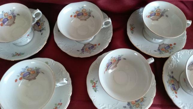 Filiżanka stara porcelana Wawel
