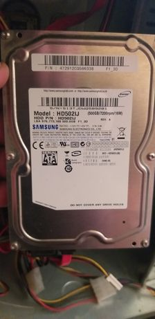 Жесткий диск Samsung 500Gb HD502HJ Sata 3,5