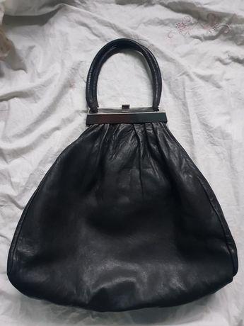Sonia Rykiel torebka kultowa skórzana styl prada gucci fendi czarna