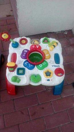 Stolik dla dziecka  grajacy  świecący