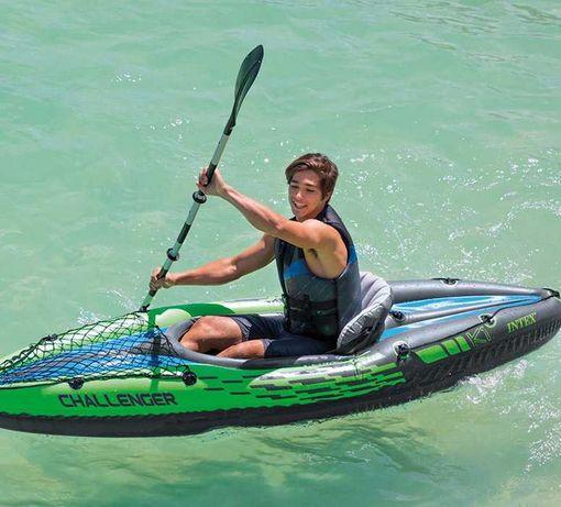 Kayak Insuflável c/ 2 Remos 274x76x33cm *Artigo Novo*