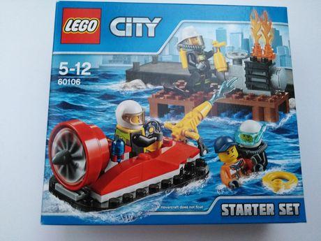 Nowe lego city 60106 strażacy zestaw startowy
