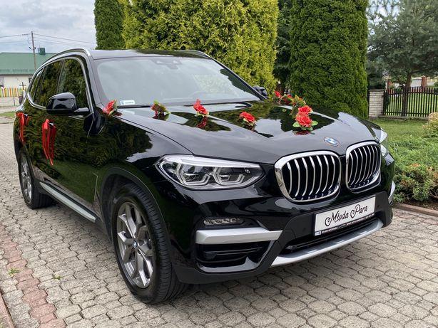 WYNAJEM auta na ślub! NOWE czarne BMW X3!