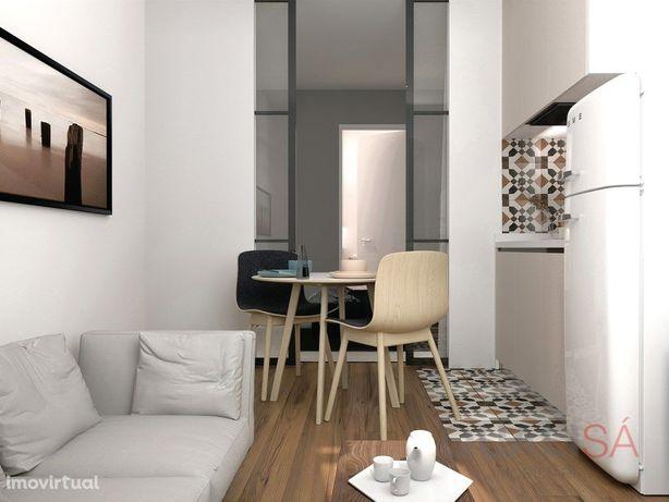 Apartamento T0 novo no centro histórico de Braga, na Rua ...