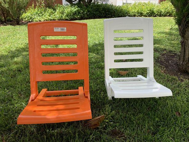Cadeiras de praia/piscina