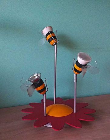 Lampa halogenowa pszczoły do pokoju dziecięcego