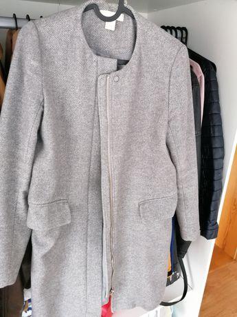 Płaszcz szary H&M 36