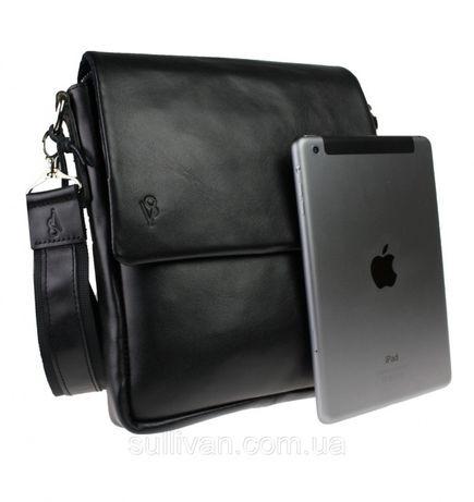 Мужская кожаная сумка сумочка ручной работы фирмы Sullivan