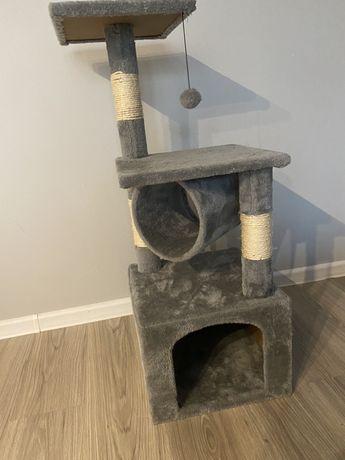Drapak dla kota z budka