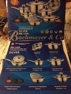 Элитный набор посуды Bachmayer & Co BM-1600 ( Швейцария) состоит из 16