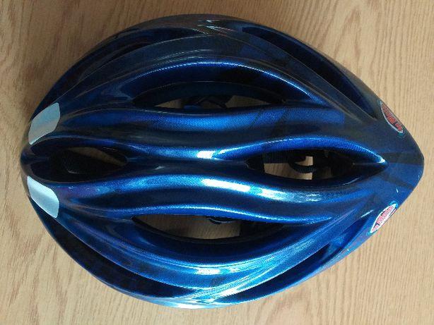 Kask rowerowy dziecięcy rozmiar 55 - 57 cm.