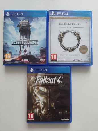 Gry PS 4 - Fallout  4, Star Wars - Battlefront,  THE GLDER SCROLLS