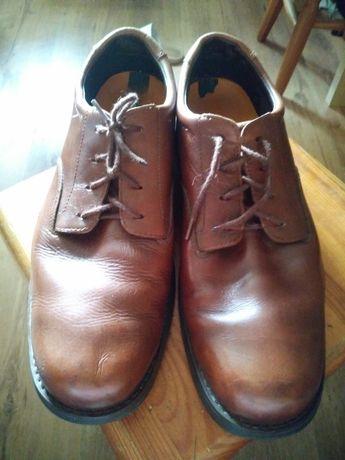 Timberland buty półbuty brązowe skórzane roz.41