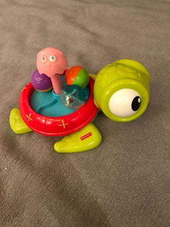 Zabawka Fisher Price żółw, kręcące piłki. Gdansk/ Pepowo.